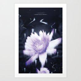 Particle Arts Art Print