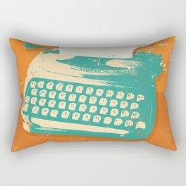 VINTAGE TYPEWRITER Rectangular Pillow