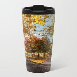 Crazy Fall Metal Travel Mug