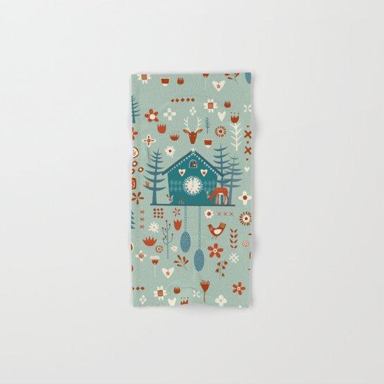 Cuckoo Clock Hand & Bath Towel