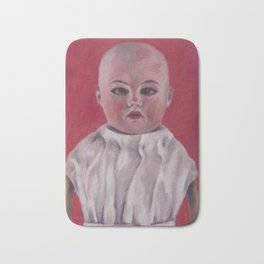 Doll portrait Bath Mat