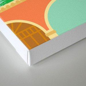 la réinvention Canvas Print