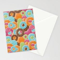 Donut pattern 006 Stationery Cards