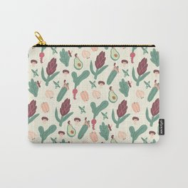 Girls love vegetables Carry-All Pouch
