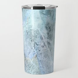 Blue Green Abstact Travel Mug