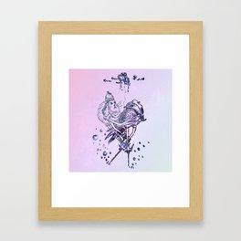 Birdie &Rabby Framed Art Print