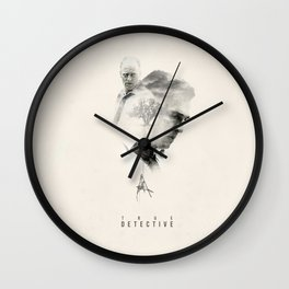 True Detective Wall Clock