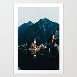 Hallstatt IV Art Print