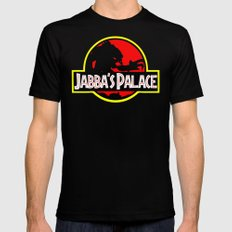 Jabba's Jurassic Palace MEDIUM Black Mens Fitted Tee
