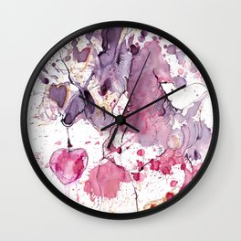 Swap Your heart for one sweet cherry? Wall Clock