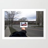 Picture Picture Truck Art Print