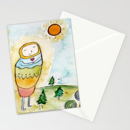 God's Good Vibes Stationery Cards