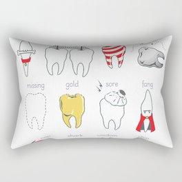 Dental Definitions Rectangular Pillow