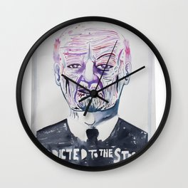 Addicted to the Stars Wall Clock
