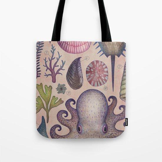 Aequoreus vita V / Marine life V Tote Bag
