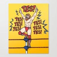 wwe Canvas Prints featuring Daniel Bryan (WWE) by RandallTrang