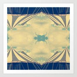 Kaleido-circus Art Print