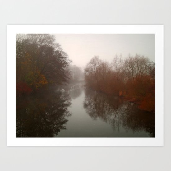 The River Aire 2 Art Print