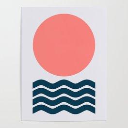 Geometric Form No.9 Poster