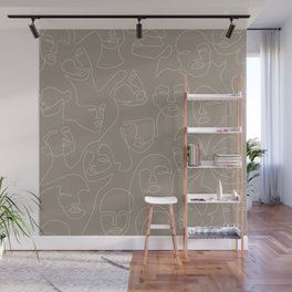 Skin Lace Wall Mural