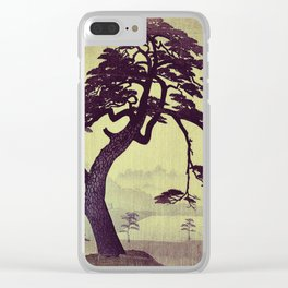 Old Man Standing Clear iPhone Case