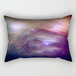 Galaxy : Pleiades Star Cluster NeBula Rectangular Pillow