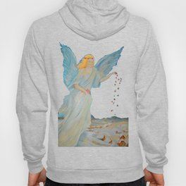Bless me | Guardian Angels are Here | Angel of Abundance | Love Hoody