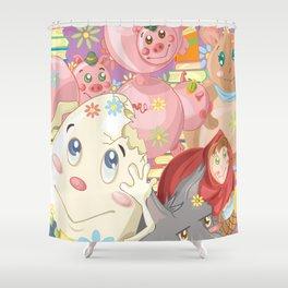 Children's Stories Shower Curtain