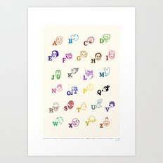 ABComics Art Print