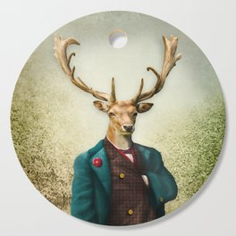 Lord Staghorne in the wood Cutting Board