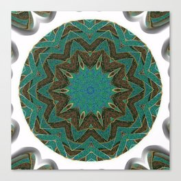 Unsharp Mandalic Ball Canvas Print