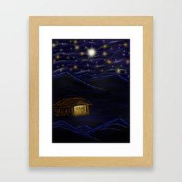 Nativity Framed Art Print