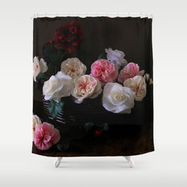 """Power, Corruption & Lies"" by Cap Blackard [Alternate Version] Shower Curtain"