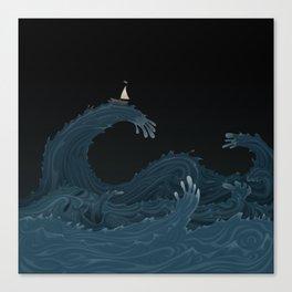 Unwetter Canvas Print