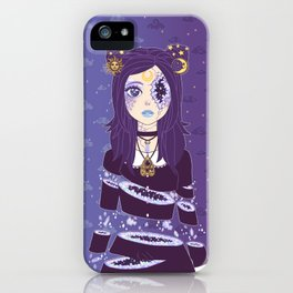 Celestial Witch iPhone Case