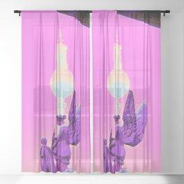 the Watchers Sheer Curtain