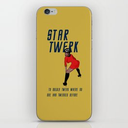 STAR TWERK iPhone Skin