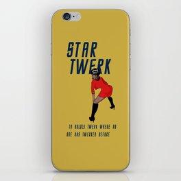 STAR TWERK iPhone Skin