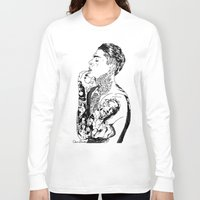 stephen king Long Sleeve T-shirts featuring Stephen by christinabrunette