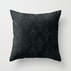 Victorian Onyx Throw Pillow