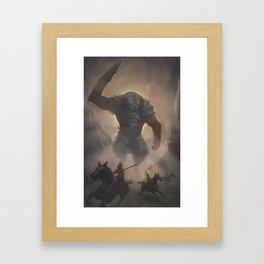 Awakened Guardian Framed Art Print