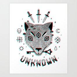 Follow Me... Art Print