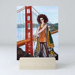 Superheroes SF Mini Art Print