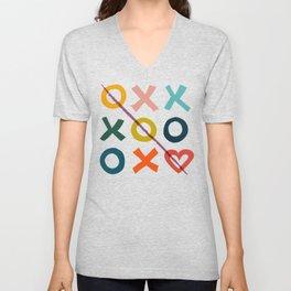 xoxo Love Unisex V-Neck