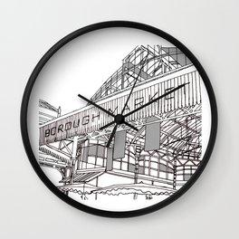 Borough market Wall Clock