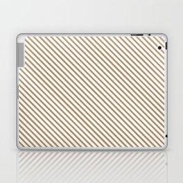 Iced Coffee Stripe Laptop & iPad Skin