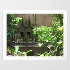 Bird Mansion Art Print