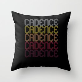Cadence Name Gift Personalized First Name Throw Pillow