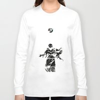 guns Long Sleeve T-shirts featuring Holy Guns by MRCRMB