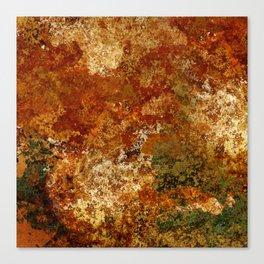 Ephemeral (corrosion) Canvas Print